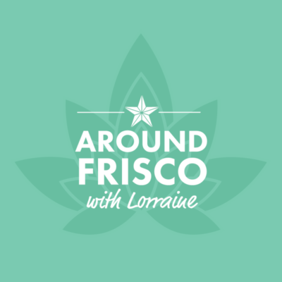 Logo for Around Frisco website